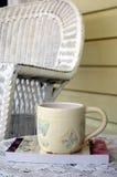 perfekt tea för 3 kopp arkivfoton
