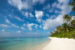 perfekt tropiskt för strandöparadis Royaltyfri Fotografi