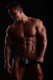 perfekta muskler Royaltyfria Foton