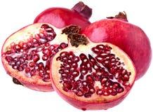 perfekta pomegranates Royaltyfri Fotografi