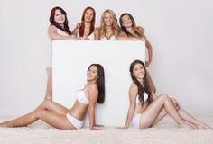 Perfekte Körper in jeder Größe Stockbilder