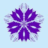 Perfekte Karten für irgendeine andere Art Design, Geburtstag und anderer Feiertag, Kaleidoskop, Medaillon Verzierungsmandala Vekt Stockfoto