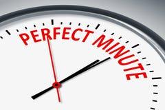 Perfekte Minute stock abbildung