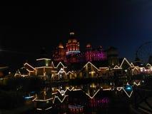 Perfekte Nacht stockfotografie