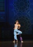 """Perfekte Rotations-Dprinzessin war in hohem Grade verehrtes Ballett """"One tausend und eins Nightsâ€- Stockfotos"""