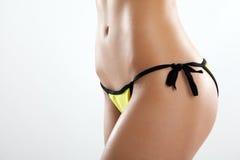 Perfekter Abschluss des weiblichen Körpers herauf Foto Lizenzfreie Stockfotos