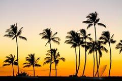 Perfekter Sonnenuntergang lizenzfreie stockbilder
