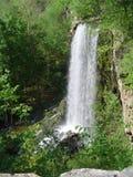 Perfekter Wasserfall in heiße Quellen Virginia Stockfotos