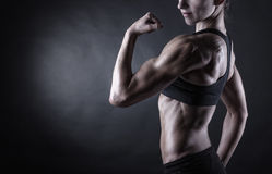 Perfekter weiblicher Körper Lizenzfreie Stockfotografie