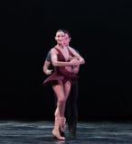 Perfektes Drehung-klassisches Ballett ` Austen-Sammlung ` Lizenzfreies Stockfoto