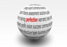 perfektion vektor illustrationer