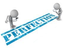 Perfektion vektor abbildung