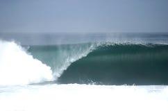 Perfetto svuoti l'onda che si rompe nel Cile Immagine Stock Libera da Diritti