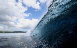 Perfezione dell'onda Fotografia Stock