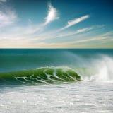 Perfezioni l'onda Fotografie Stock
