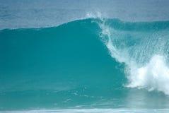 Perfezioni l'onda Fotografia Stock