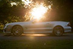 Perfil convertible del coche Imagen de archivo