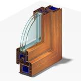 Perfil da janela da fatia Imagem de Stock