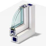 Perfil 1 da janela da fatia Imagem de Stock