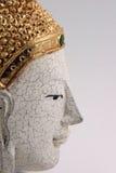 Perfil da máscara de Buddha ilustração do vetor