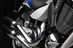 Perfil da motocicleta imagens de stock