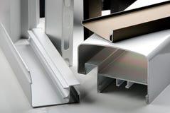 Perfil de alumínio fotos de stock