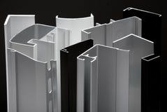 Perfil de alumínio foto de stock