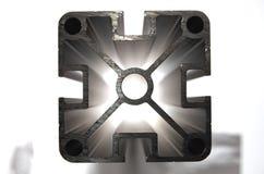 Perfil de alumínio HDR imagem de stock royalty free