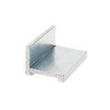 Perfil de aluminio Fotografía de archivo