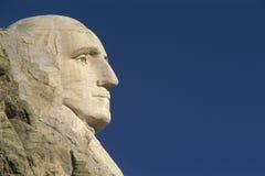 Perfil de George Washington Imágenes de archivo libres de regalías