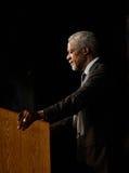 Perfil de Kofi Annan Fotografía de archivo
