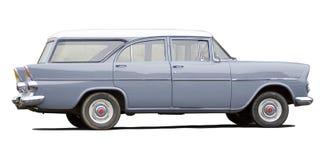 Perfil del coche de Clasic Foto de archivo