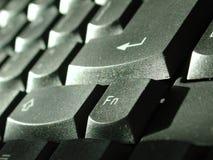 Perfil del teclado Foto de archivo libre de regalías