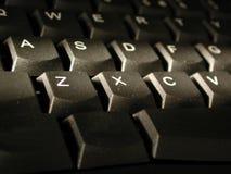 Perfil del teclado Imagen de archivo libre de regalías