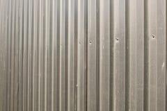 Perfil galvanizado cerca do metal Imagens de Stock Royalty Free