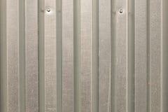 Perfil galvanizado cerca do metal Foto de Stock Royalty Free