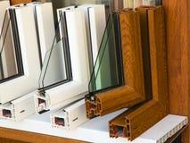 Perfiles modernos de las ventanas Fotografía de archivo