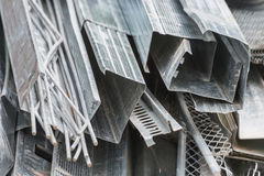 Perfis de alumínio imagem de stock royalty free