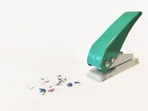 perforadora Imagen de archivo libre de regalías