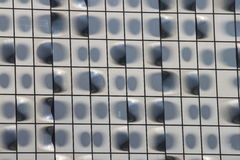 Perforate facade Royalty Free Stock Photography