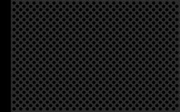 Perforate metallic gray flat Stock Photo