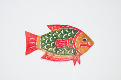 Perforate skin fish. The texture of perforate skin fish Royalty Free Stock Image