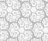 Perforated перекрывая много свирлей Стоковое фото RF
