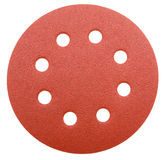 Perforated abrasive wheel Stock Photo