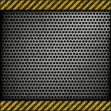 perforated bakgrundsmetall Fotografering för Bildbyråer