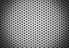 perforated bakgrundsmetall Royaltyfri Bild
