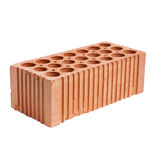 Perforated brick Royalty Free Stock Images