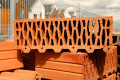 Perforated brick Stock Images