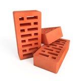 Perforated bricks Stock Images