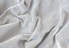Perforated cotton nylon netting Royalty Free Stock Photos